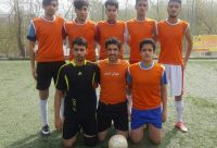 تیم جوانان شهدای آهندان در مسابقات جام نوروز