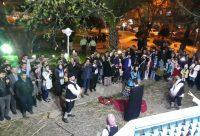 اجرای گروه نمایش خورتاب در جشنواره نوروزی لاهیجان