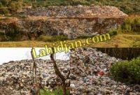 فاجعهای سنگینتر از سراوان در انتظار لاهیجان/ اقدام منفعلانه مسئولان لاهیجان و گیلان پس از ۳۰ سال را دفن زباله در تموشل