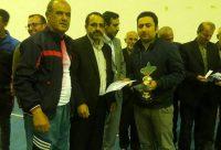 قهرمان مسابقات لیگ فوتسال آهندان