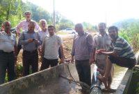 افتتاح ایستگاه پمپاژ آب آهندان